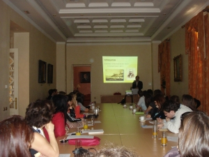 """""""Kostis Palamas"""" Conference Room, Culture Center of the National and Kapodistrian University of Athens"""
